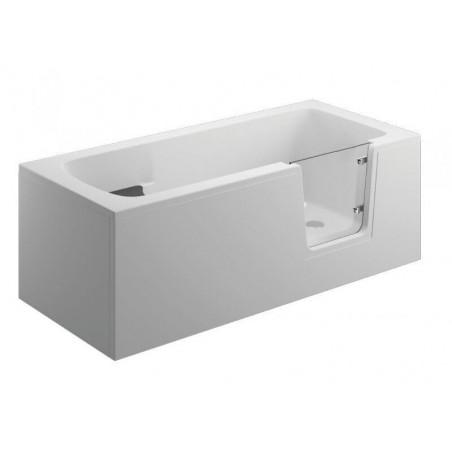 AVO badekar med dør/hvit