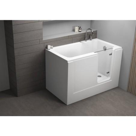 PERE badekar med dør/hvit ,...