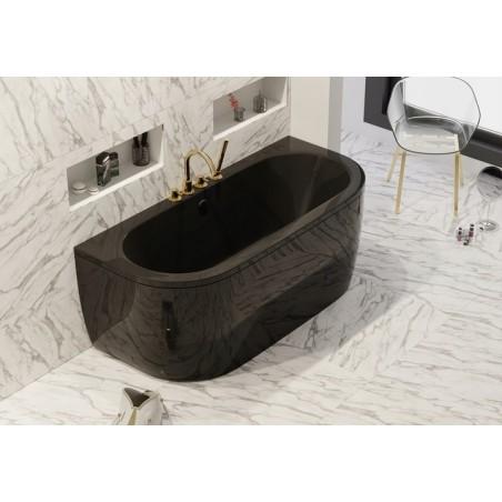 VISTA badekar svart/gloss