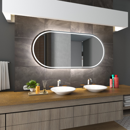 PALERMO speil LED