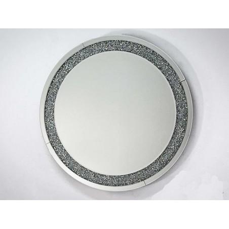 Diamant speil , rund Ø90cm