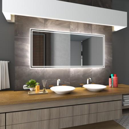 VIENNA speil LED ,rektangel